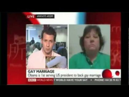 BBC World News: Equal Marriage Debate With @Out4Marriage Co-Founder Mike Buonaiuto