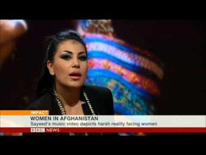 BBC WORLD NEWS SPEAKS TO AFGHAN POP STAR ARYANA SAYEED