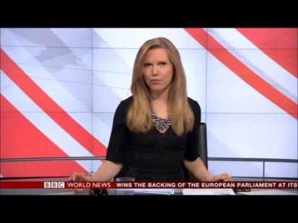 Alice Baxter – BBC World News Presenter 05/02/2014