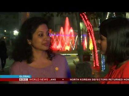 Leena Thomas LIVE at GES 2017, BBC World News