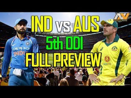 Ind vs Aus 5th ODI Live | Live Cricket Score | Highlights Australia beat India by 35 runs