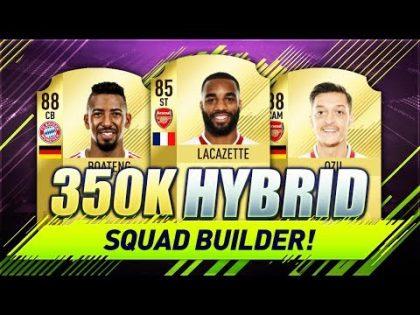 350K PREM / BUNDESLIGA HYBRID FIFA 18 Squad Builder w/ Custom Tactics & Player Instructions