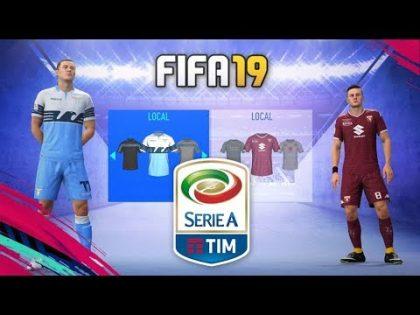 FIFA 19 | KITS & RATINGS SERIE A ITALY