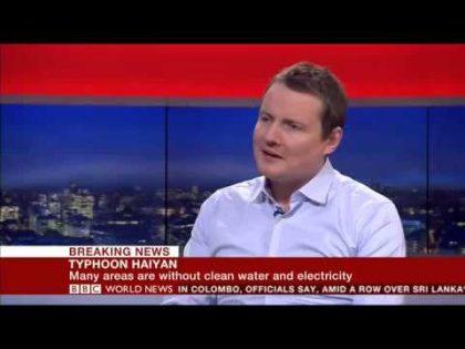 BBC World News – Typhoon Haiyan preparedness