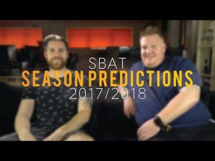 2017/18 Season Predictions