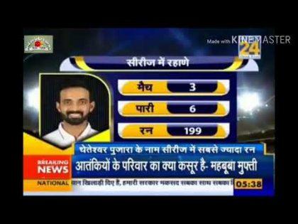 India Vs Australia 3rd test match highlights! Cricket News