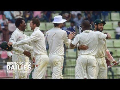 Zimbabwe script historic Test win | Daily Cricket News