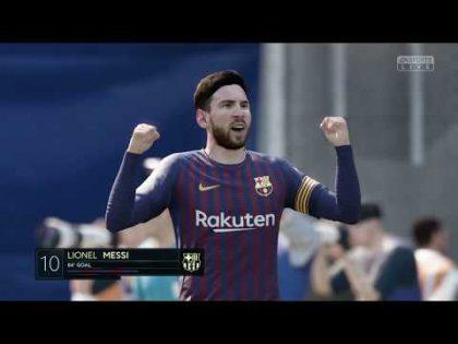 BARCELONA vs VILLARREAL | FIFA 19 PS4 | SPANISH PRIMERA DIVISIÓN PREDICTION | CPU VS CPU