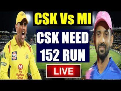 CSK Vs RR : Match 25 Live Cricket Score | IPL 2019 Highlights | Rajasthan vs Chennai