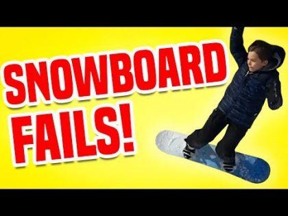 Snowboard Fails | Funny Fail Compilation