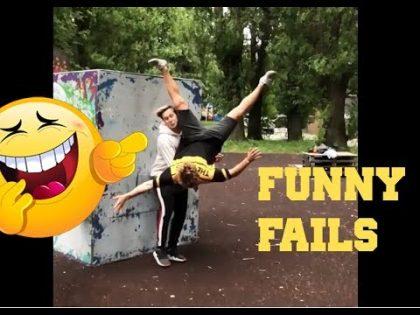 ULTIMATE PARKOUR FAILS 2018  funny  MIX