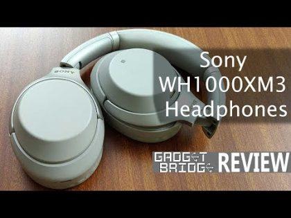 Sony WH1000XM3 Headphones Review: Pretty Loud Bang For your Buck – Gadget Bridge