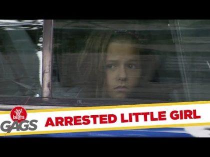 Little Girl Arrested for Selling Lemonade Prank – Just For Laughs Gags
