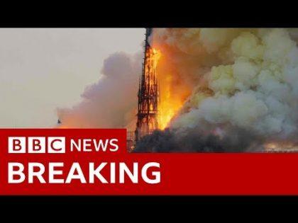 Notre Dame: Blaze engulfs medieval icon – BBC News