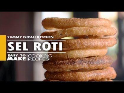 How to Make Sel Roti   Nepali Food Recipe