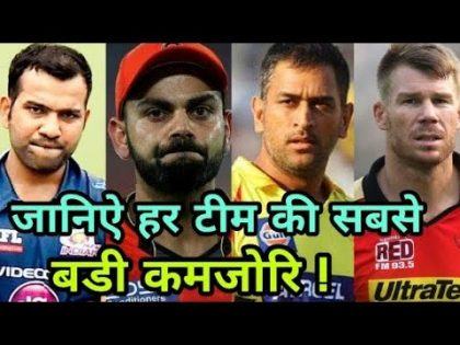 IPL 2018: All Team Weakness | Cricket News Today