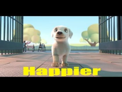 Pip – Happier Music Video Marshmello Happier (UNOFFICIAL MUSIC VIDEO) Pip Dog Song Animated Film
