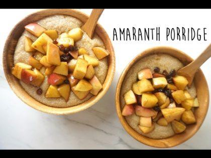 AMARANTH PORRIDGE // ELECTRIC FOOD RECIPE