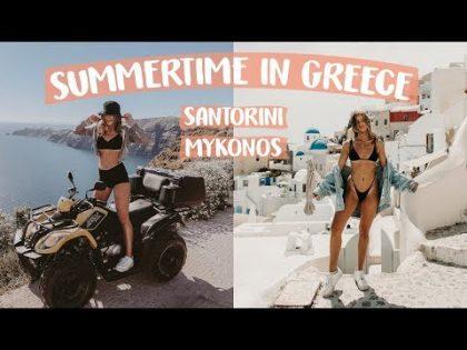 GREECE TRAVEL VLOG | Meg Showell