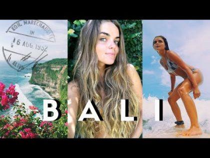 HELLO BALI 😍 // Travel Vlog | Tess Florio