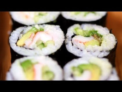 California Sushi Roll Recipe, Japanese Food, Yum How To