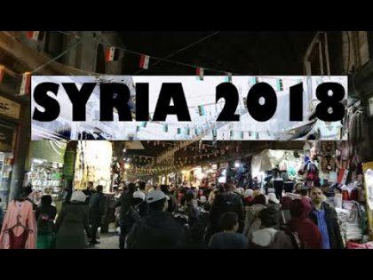 SYRIA Travel Vlog 2018 – Damascus and Homs – رحلتي إلى سوريا كأجنبي