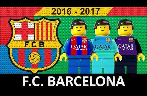 FC Barcelona 2016/17 • Lego Football Film 2017 • LaLiga • Champions League • Copa del Rey
