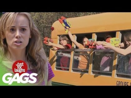 Public Transportation Pranks – Best Of Just For Laughs Gags