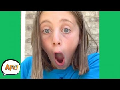 Is Her Face STUCK That WAY?? 😂 | Funniest Fails | AFV 2019