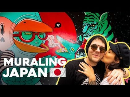 Art Adventures in JAPAN! Painting Murals & Travel Vlog