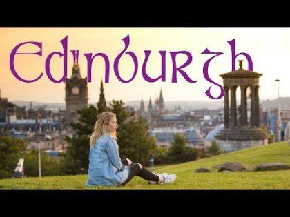 The Uk's Most Photogenic City!      Edinburgh Travel Vlog