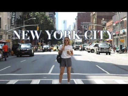 New York City Travel Vlog   2016