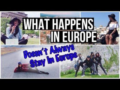 One Epic EUROPE TRIP   Travel VLOG