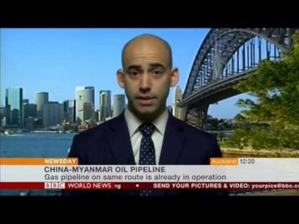BBC World News – The China-Myanmar oil pipeline and the Belt and Road Initiative