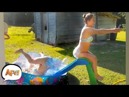 Isn't She too Big for THAT?? | Fails of the Week | March 2019 AFV