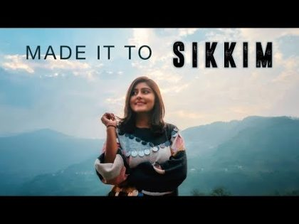 SIKKIM TRAVEL VLOG   Bagdogra to Gangtok – Vlog #1   North East India   Kritika Goel