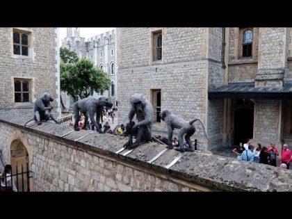 #1075 HAUNTED Tower of London, Crown Jewels & ANNE BOLEYN's Ghost – Travel Vlog (7/17/19)