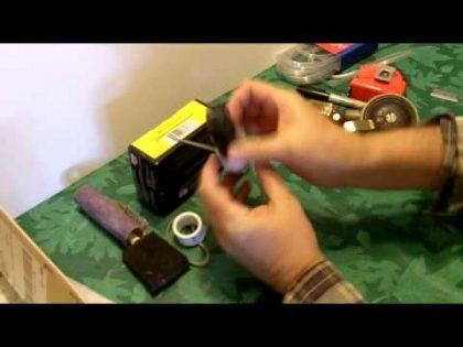 DIY Bayonet for pepper spray mace self defense – my latest gadget