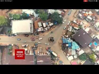BBC World News (new look BBC Reith) – Focus on Africa – Headlines, Intro (15/07/2019, 18:30 BST)