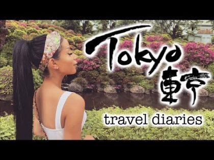 A VERY #EXTRA TOKYO TRAVEL VLOG!