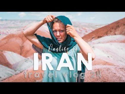 Vanlife in Iran!   VANLIFE TRAVEL VLOG 27