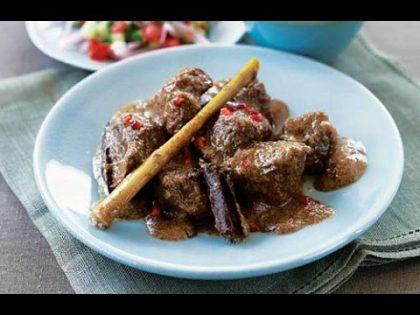 Pinoy Food Recipe: BEEF RENDANG