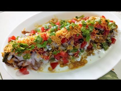 Ragda Patties Recipe | How To Make Ragda Patties | Mumbai Street Food