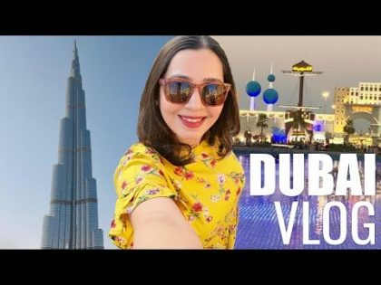 DUBAI MALL, GLOBAL VILLAGE, SHOPPING & FOOD | Dubai Trip Vlog