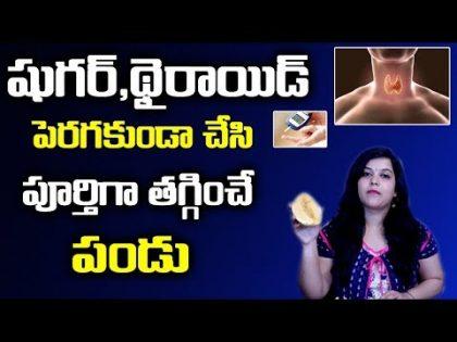 షుగర్,థైరాయిడ్ ని తగ్గించే పండు సింపుల్ చిట్కాలు || Latest HEalth and Beauty Tips