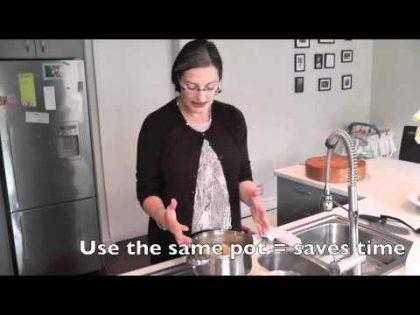 Free baby food recipe – 4 Apples – Short
