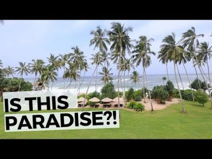 WE FOUND PARADISE!! Tangalle Sri Lanka Travel Vlog