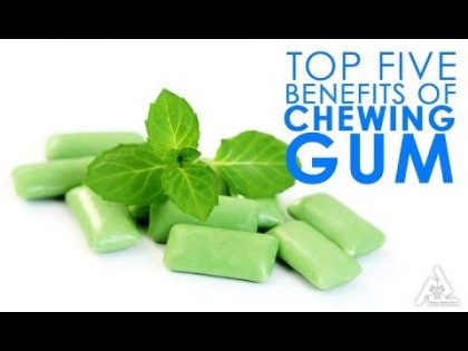 Top 5 Benefits Of Chewing Gum | Best Health and Beauty Tips | Food