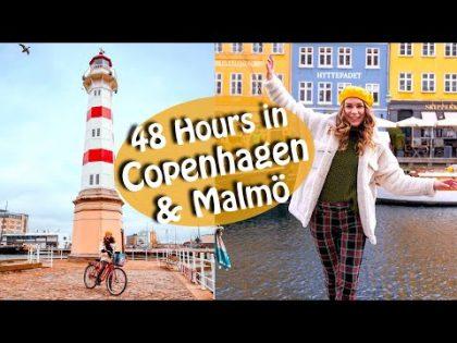 Copenhagen & Malmö Travel Vlog  – Food & Biking