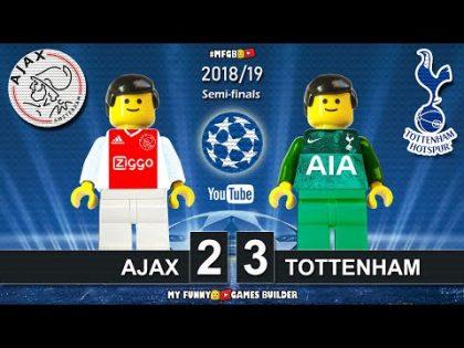 Ajax vs Tottenham 2-3 • Champions League 2019 (08/05/19) All Goals Highlights LEGO Football Film